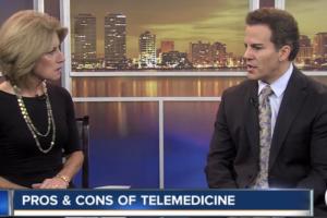 Dr. David Soria Pros and cons of telemedicine